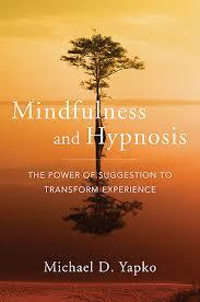 Image of book cover of Mindfulness and Hypnosis